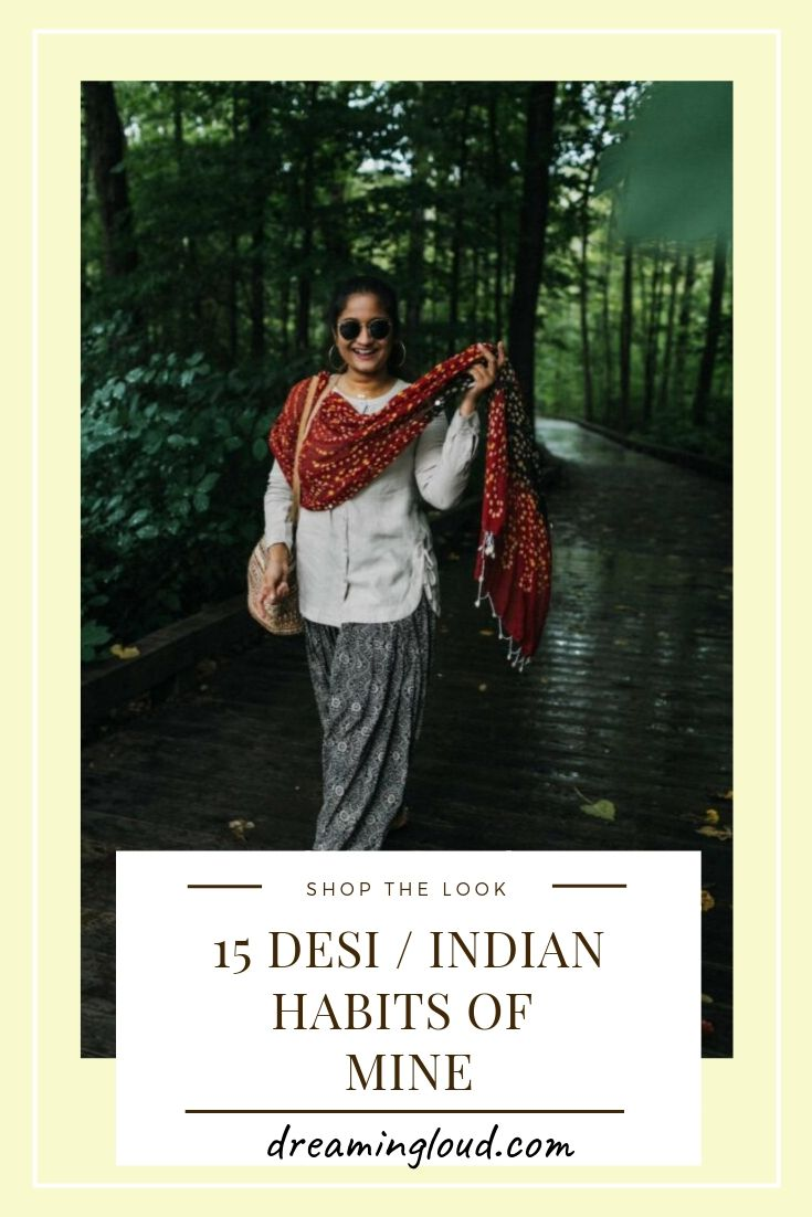 Indian Customs of Mine: wearing patiala pants, featured by popular US fashion blogger, Dreaming Loud