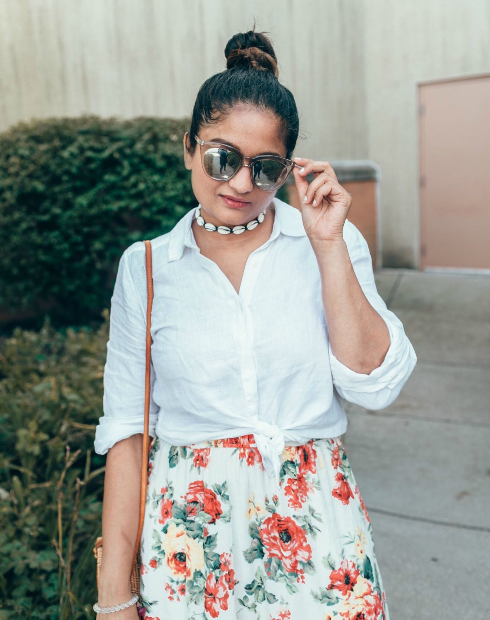 best Shell jewelry, accessory trend 2018   fall accessories featured by popular US modest fashion blogger, Dreaming Loud