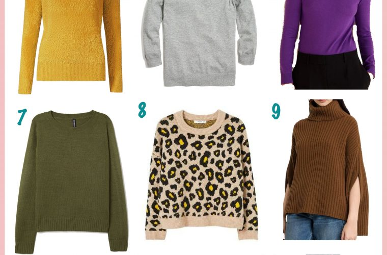 15 Cute Fall Sweaters Perfect for the Season featured by popular Ohio modest fashion blogger, Dreaming Loud