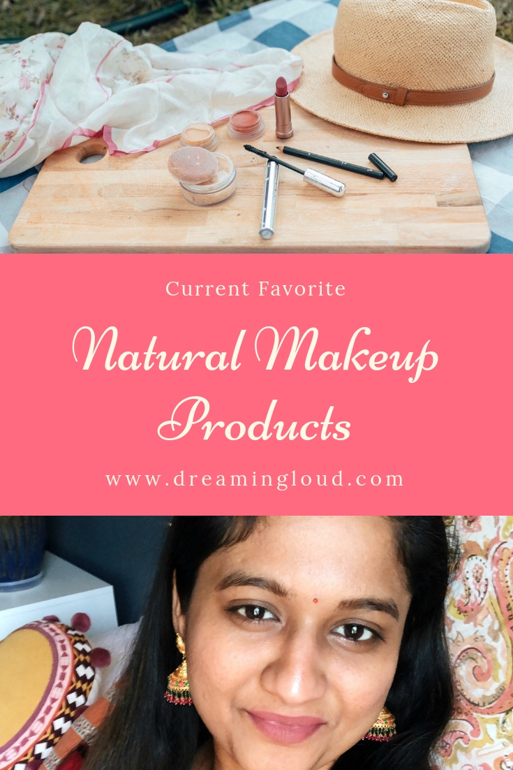 Favorite green or Natural makeup products featured by popular Ohio natural beauty blogger, Dreaming Loud