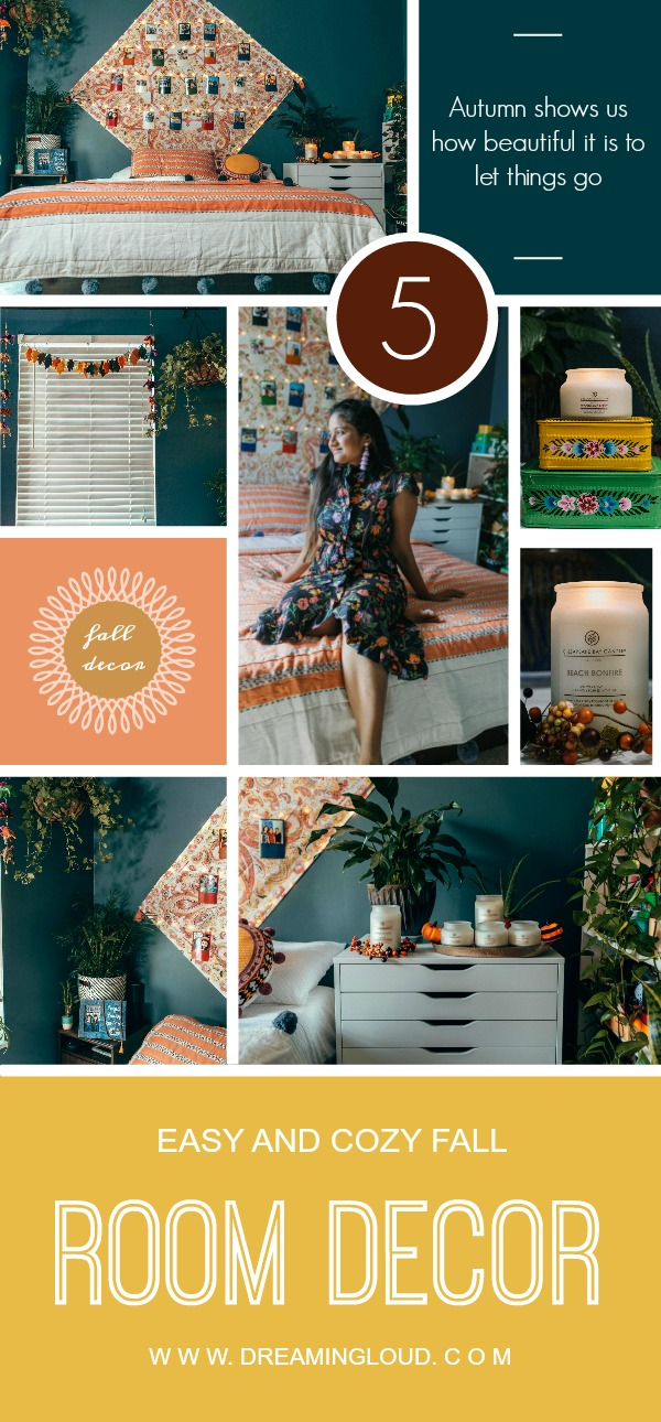 5 COZY AND EASY FALL BEDROOM DECOR IDEAS