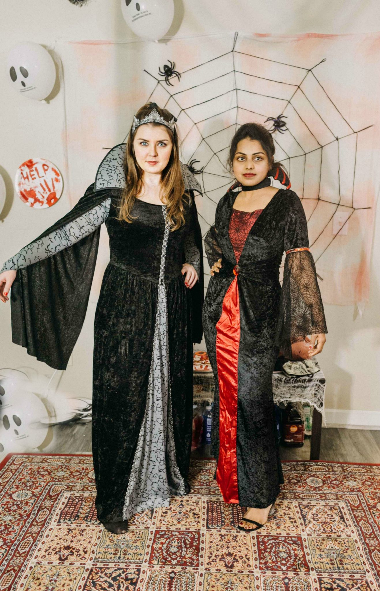 Halloween Bachelorette Evil queen costume 15 Scary Fun Ideas for your Halloween Bachelorette Party- Costumes, Decorations and Games featured by top US life and style blog, Dreaming Loud