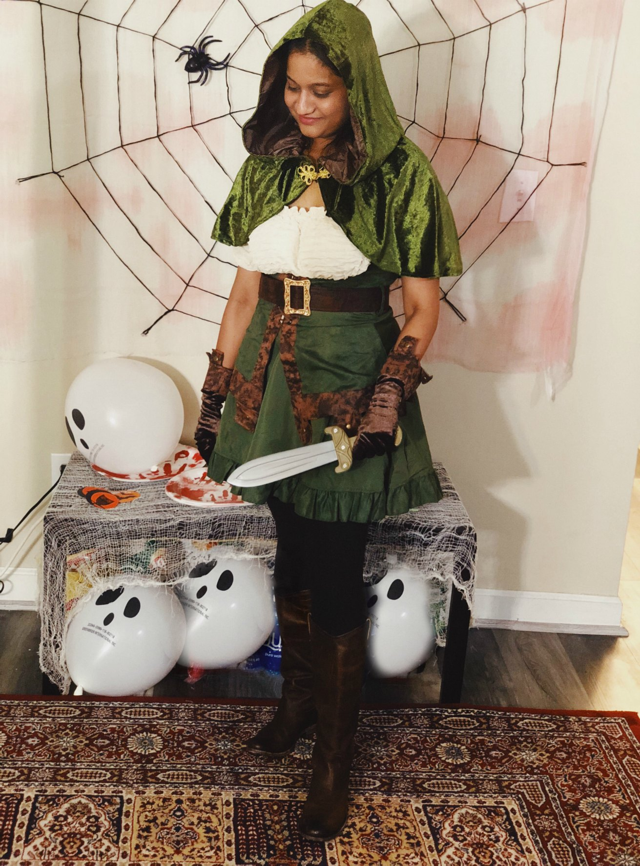 Halloween Bachelorette Robin Hood costume ideas5 Scary Fun Ideas for your Halloween Bachelorette Party- Costumes, Decorations and Games featured by top US life and style blog, Dreaming Loud