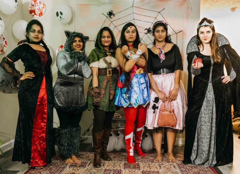 Halloween Bachelorette costume ideas 5 Scary Fun Ideas for your Halloween Bachelorette Party- Costumes, Decorations and Games featured by top Ohio life and style blog, Dreaming Loud