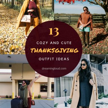 13 Cozy and Cute Thanksgiving outfit ideas featured by top Ohio modest fashion blog, Dreaming Loud