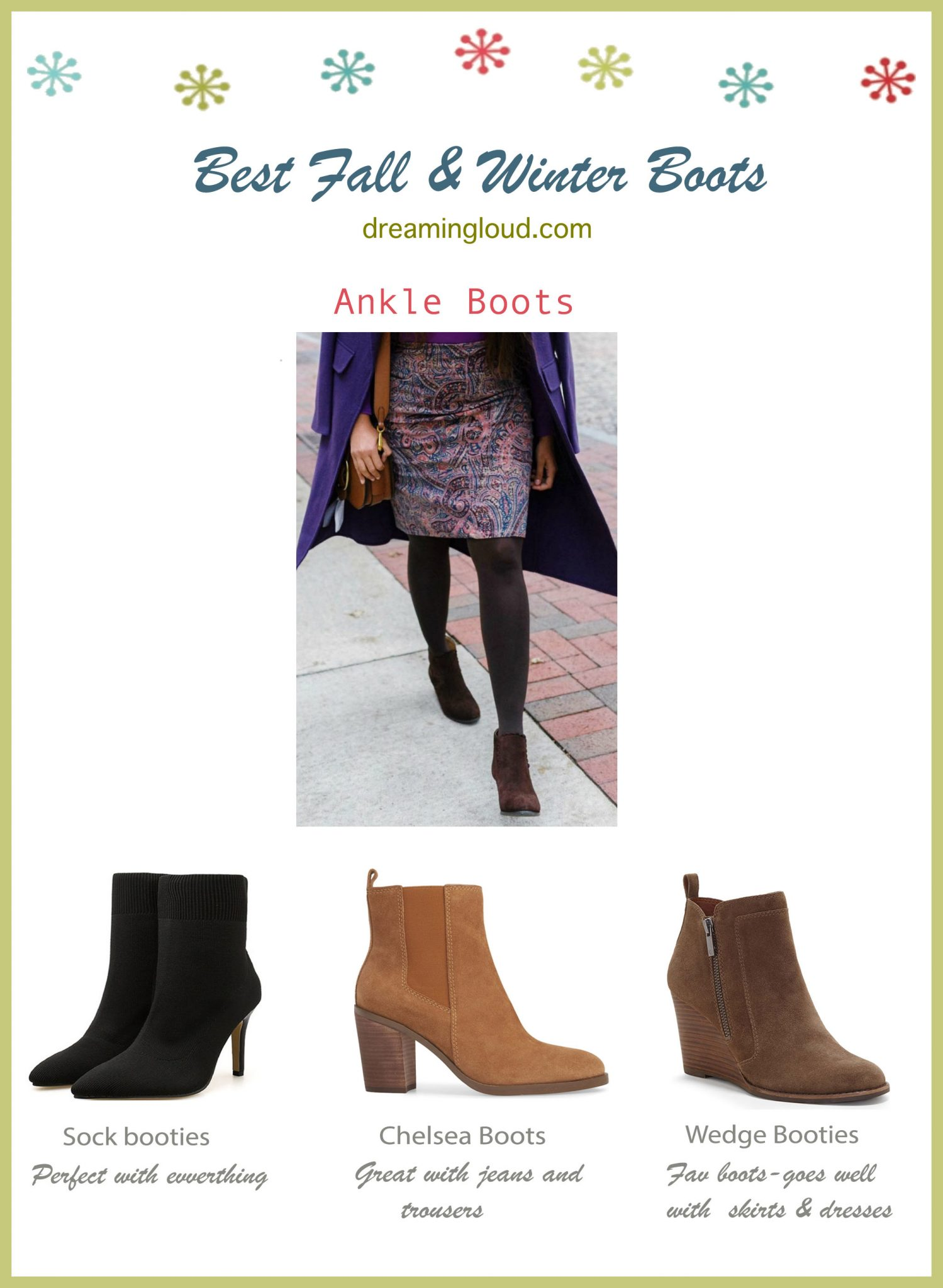 Best Fall and Winter boots-ankle boots or booties  | The Best Fall Boots Under $150 featured by top US fashion blog, Dreaming Loud