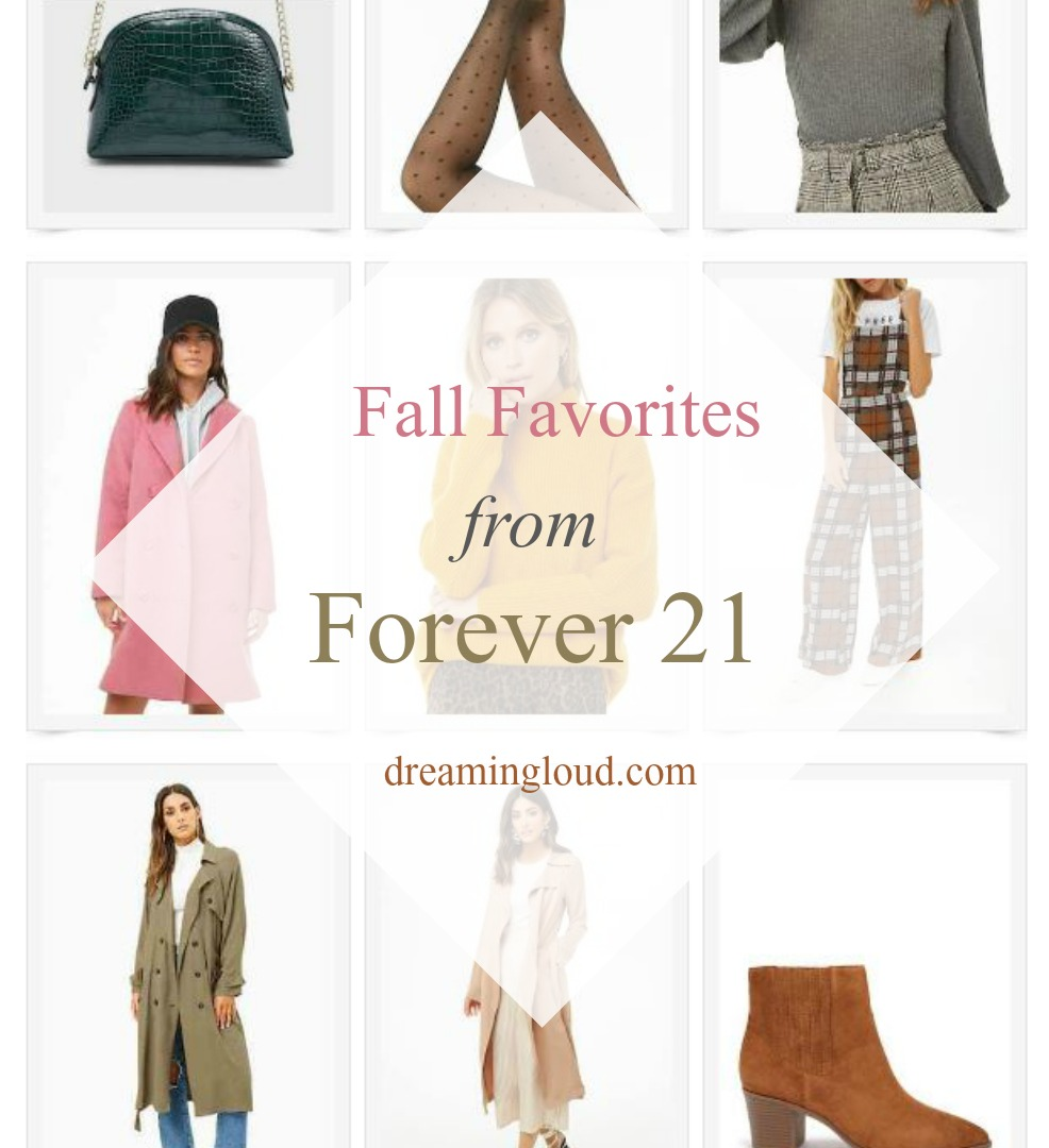 Fall Favorites from Forever 21