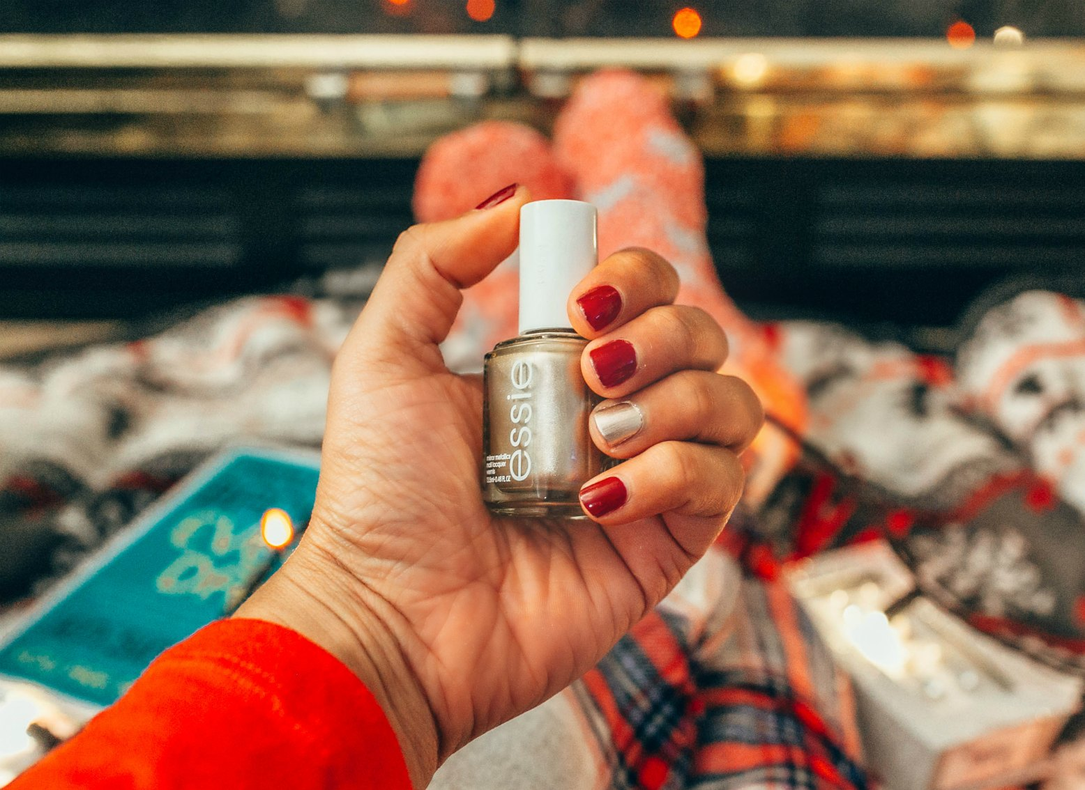 Essie Mirror Metallics Nail Polish good as gold | | 7 Kohl's Gifts Under $25 featured by top US life and style blog, Dreaming Loud: image of ESSIE nail polish available at Kohls