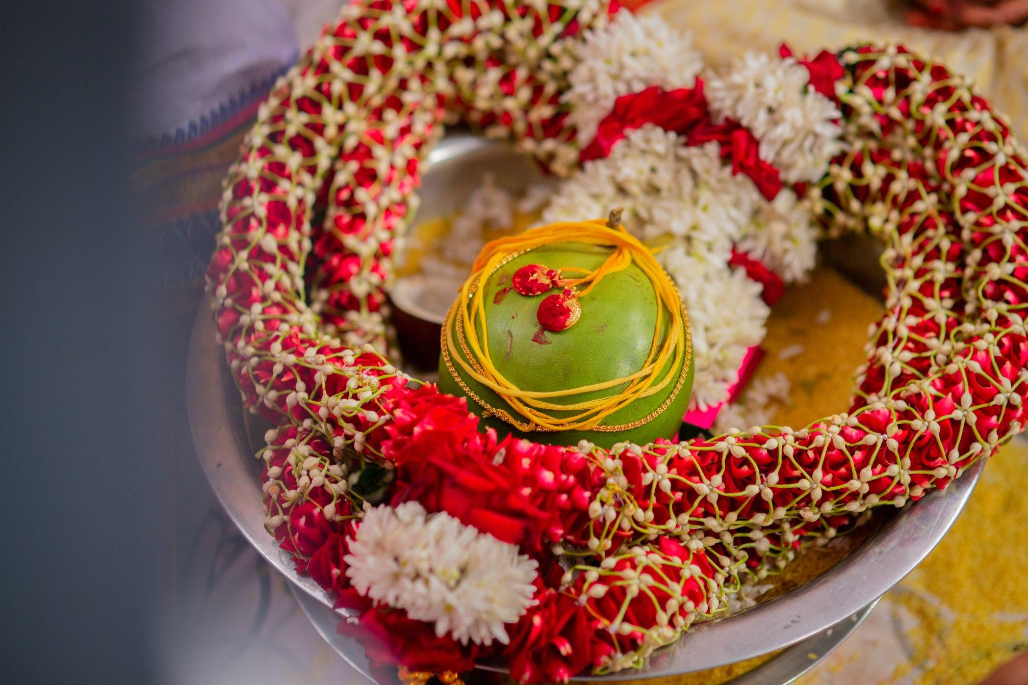 15 Hindu Telugu Rituals for your Traditional Indian Wedding Day featured by top US life and style blog, Dreaming Loud: Mangal Sutra Dharana