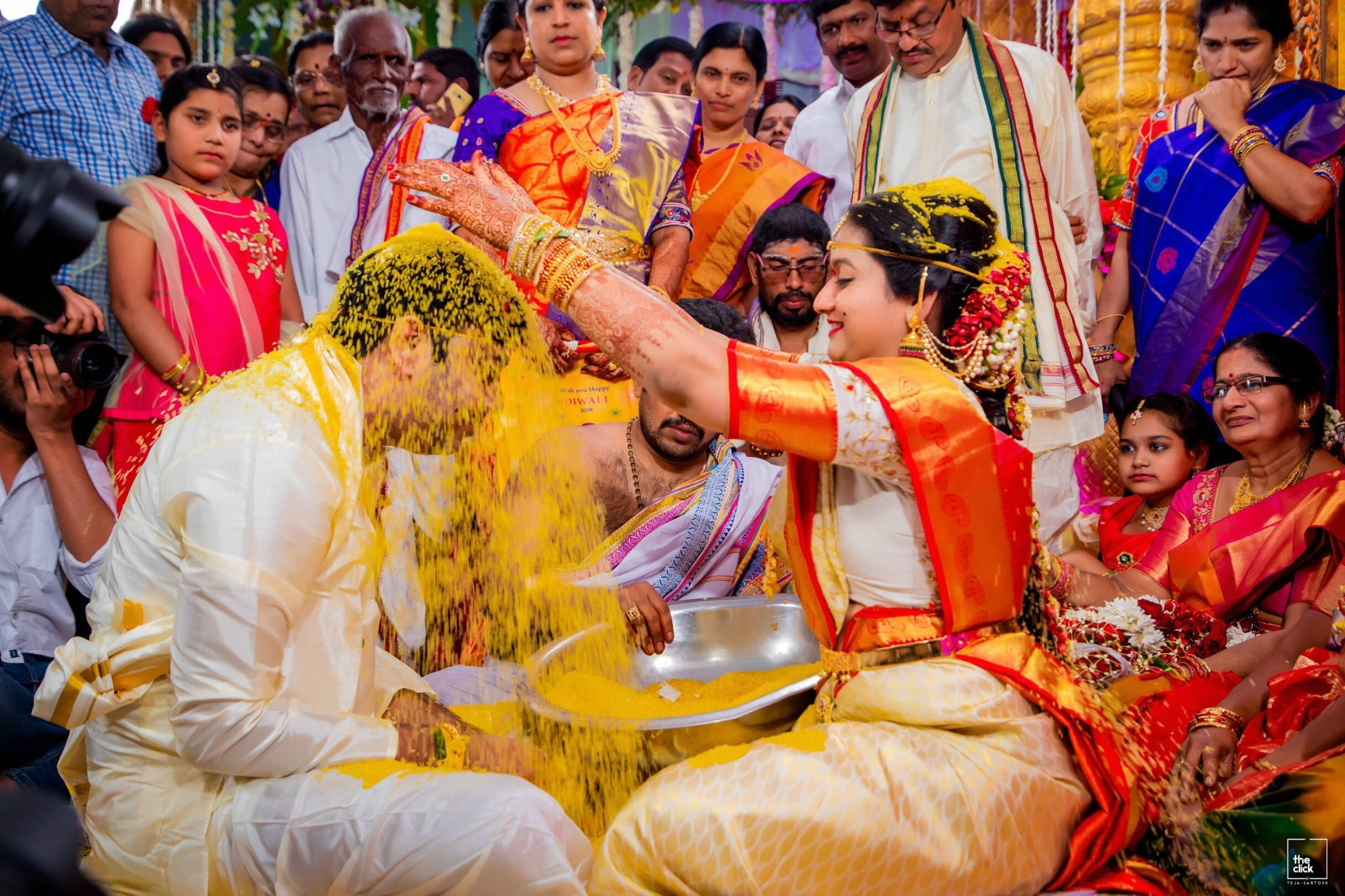 15 Hindu Telugu Rituals for your Traditional Indian Wedding Day featured by top US life and style blog, Dreaming Loud: Talambralu
