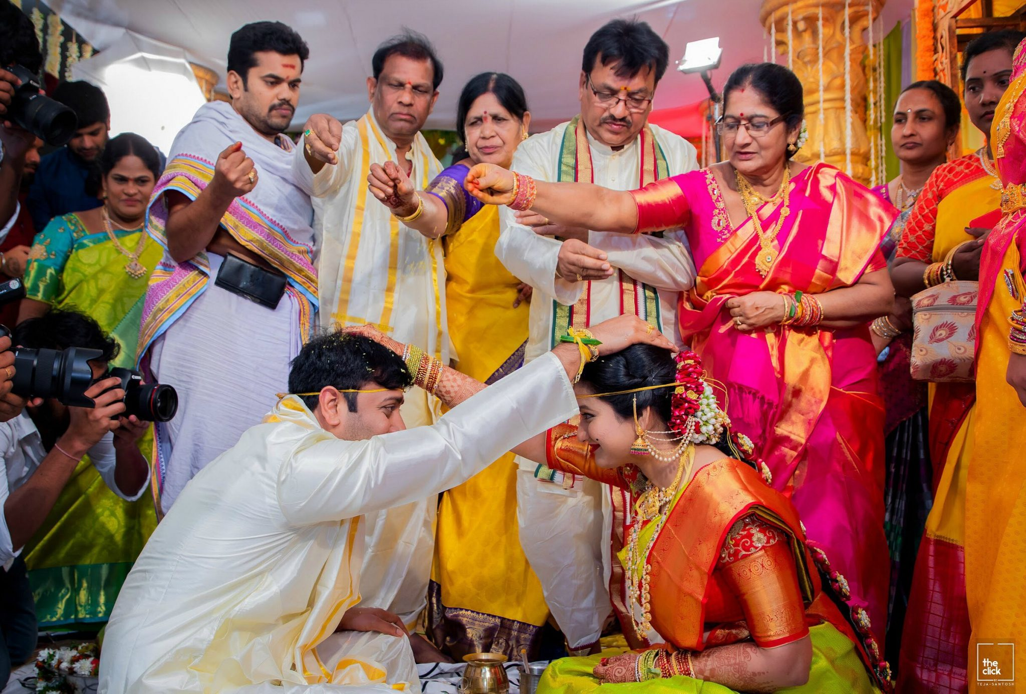 15 Hindu Telugu Rituals for your Traditional Indian Wedding Day featured by top US life and style blog, Dreaming Loud: JeelaKarra Bellam or Sumuhrutham