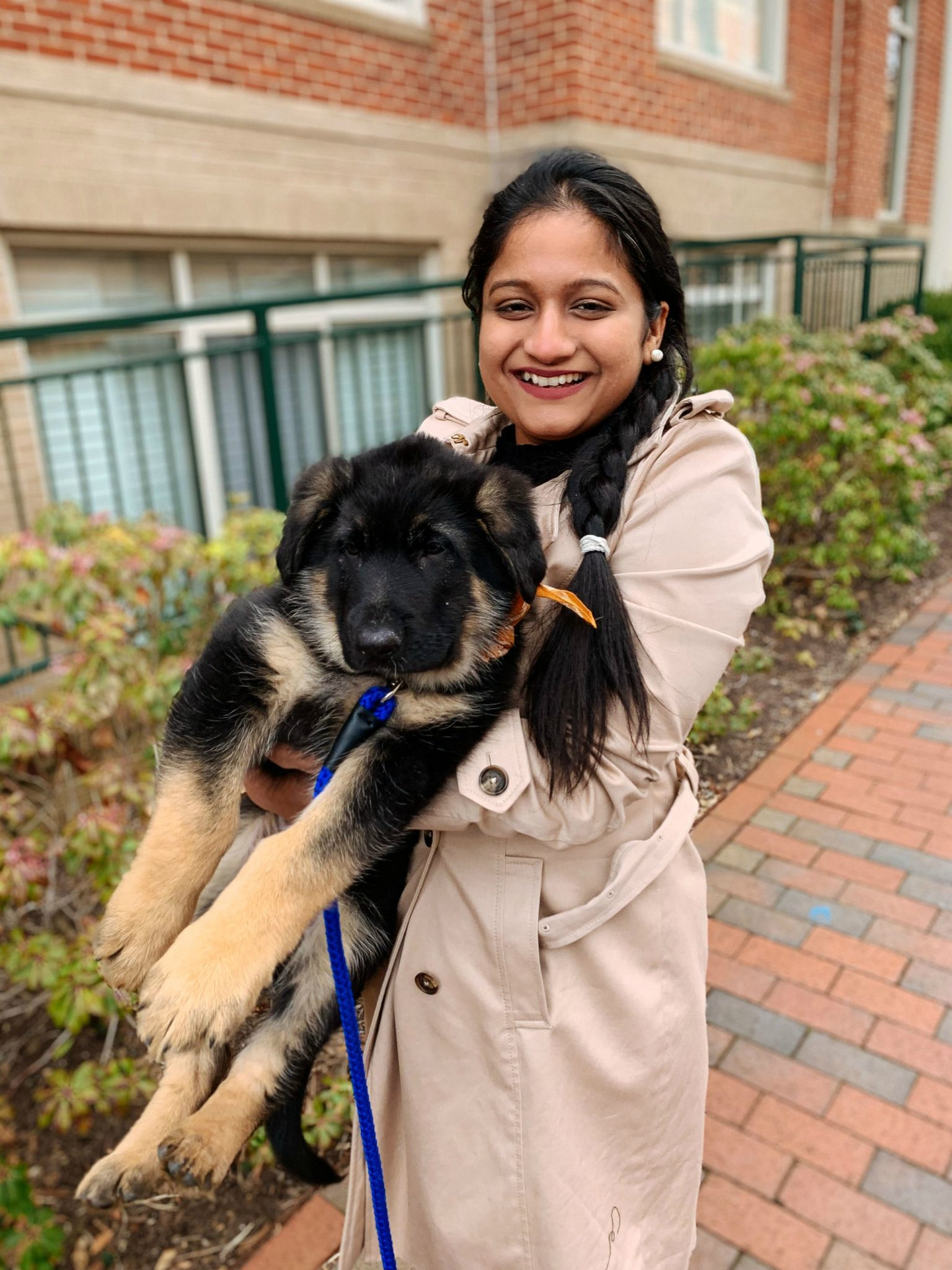Top US lifestyle blogger, Surekha of Dreaming Loud, features their new puppy, Bagheera