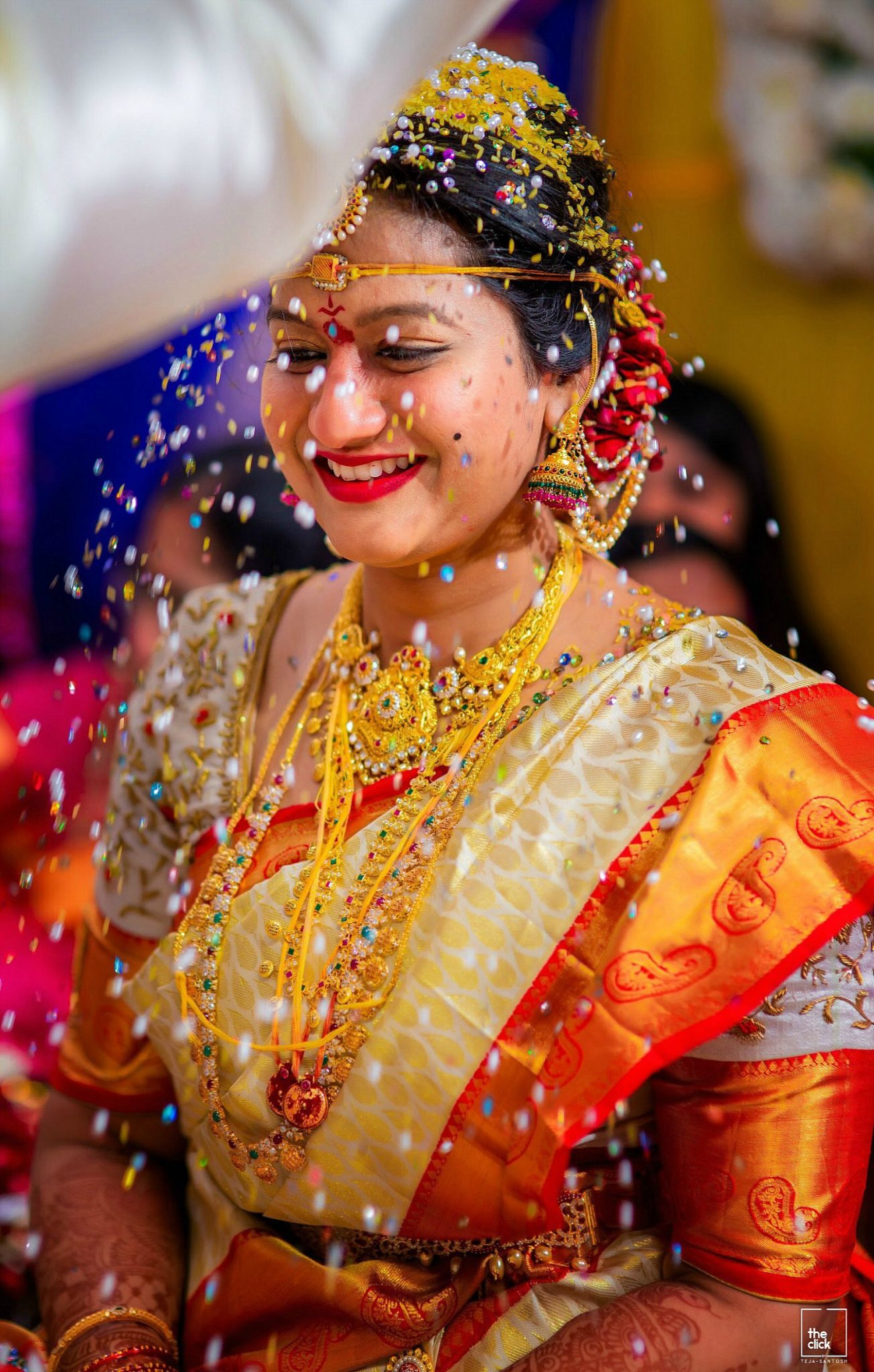 15 Hindu Telugu Rituals for your Traditional Indian Wedding Day featured by top US life and style blog, Dreaming Loud Talambralu