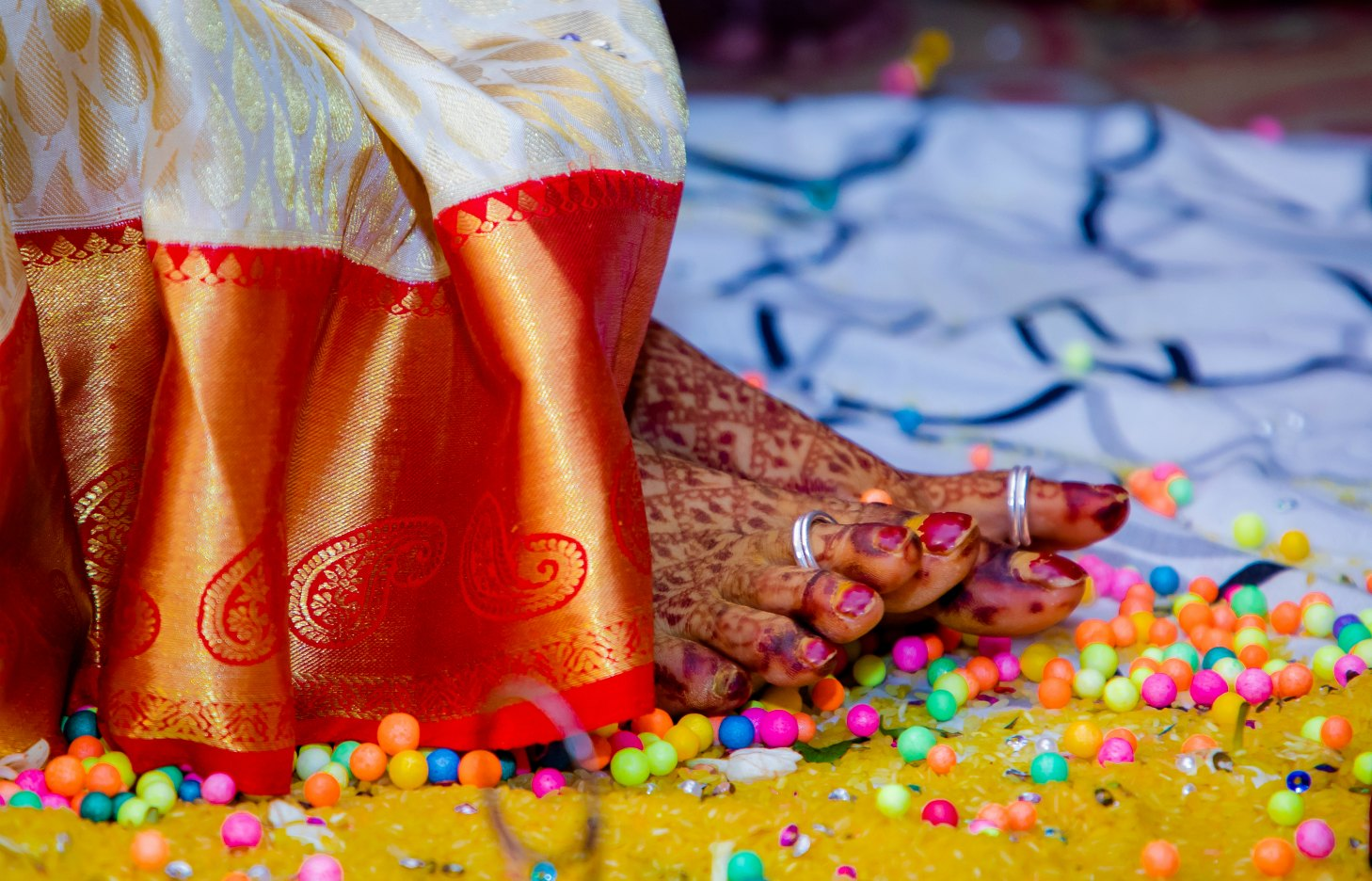 15 Hindu Telugu Rituals for your Traditional Indian Wedding Day featured by top US life and style blog, Dreaming Loud: Sthalipakam & Nalla Pusalu