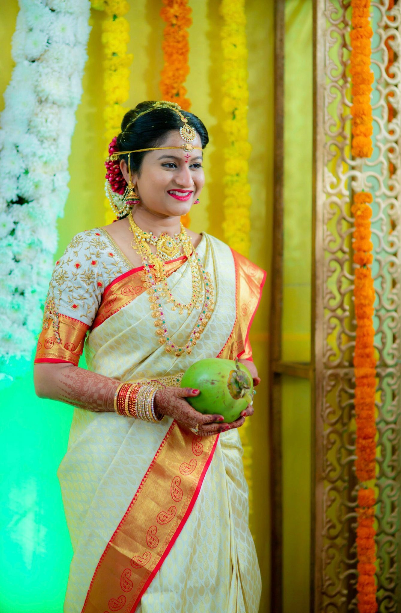 15 Hindu Telugu Rituals for your Traditional Indian Wedding Day featured by top US life and style blog, Dreaming Loud: Madhuparakam