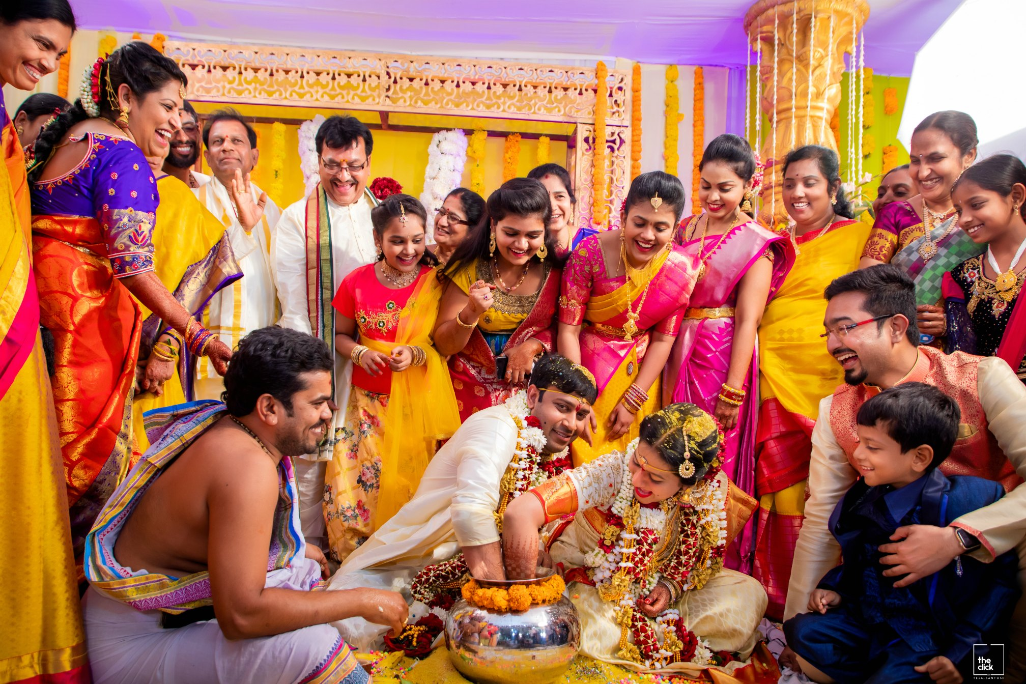 15 Hindu Telugu Rituals for your Traditional Indian Wedding Day featured by top US life and style blog, Dreaming Loud: The Ring Game