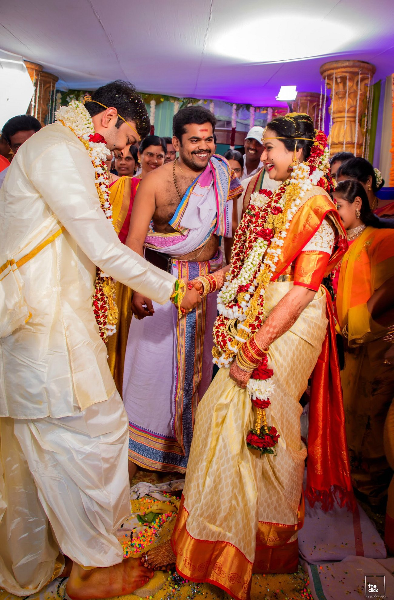 15 Hindu Telugu Rituals for your Traditional Indian Wedding Day featured by top US life and style blog, Dreaming Loud: Saptapadi