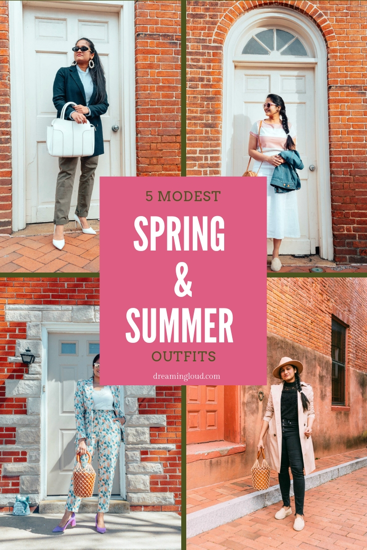 Trendy Modest Outfits for Spring & Summer  Fashion  Dreaming Loud