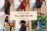 Cute and modest summer outfits under $30