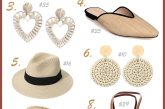Trendy Summer Accessories Roundup Favorite Straw, Raffia, Wicker & rattan Finds Under $50 featured by top US modest fashion blog, Dreaming Loud