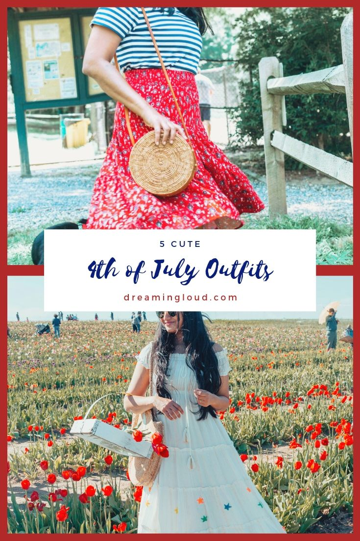 5 Cute Fourth of July Outfits to Celebrate Independence Day in Style featured by top US modest fashion blog, Dreaming Loud