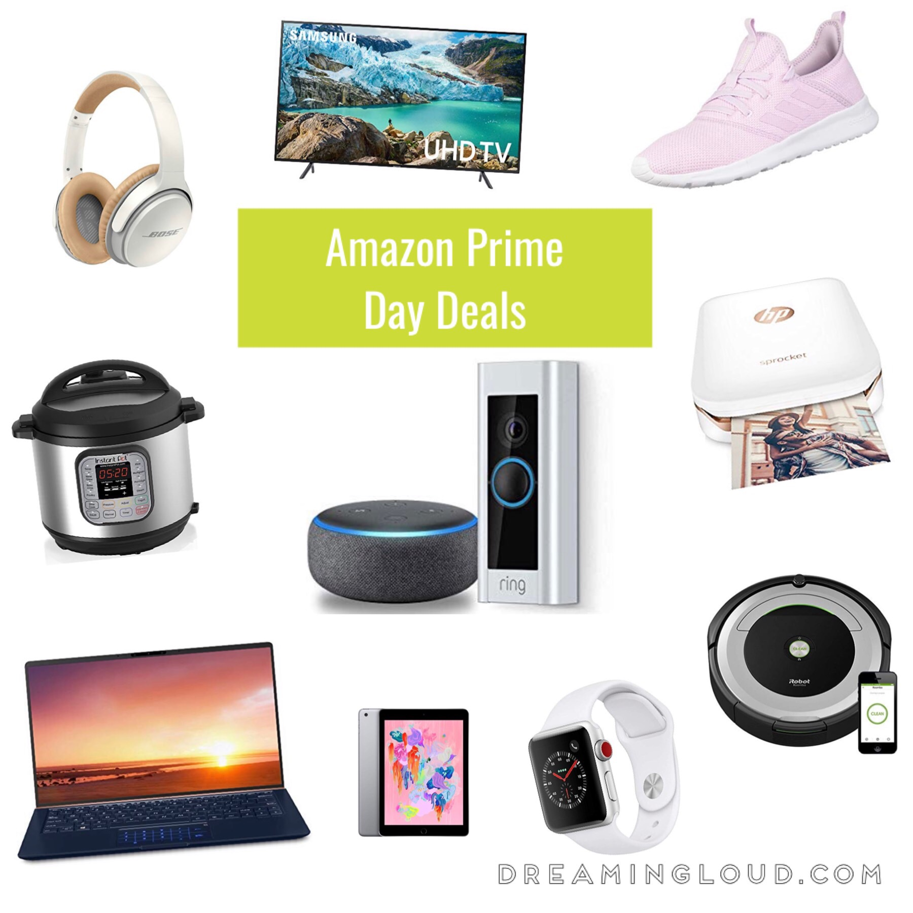 Best Amazon Prime Day Deals 2019 Laptops, Electronic, Home and Fashion Deals by top US life and style blog, Dreaming Loud