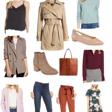 Top 10 Work Wardrobe Essentials from the 2019 Nordstrom Anniversary Sale featured by top US modest fashion blogger, Dreaming Loud