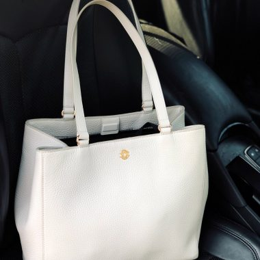 Dagne Dover Allyn Tote, the best Work tote featured by top US modest fashion blog, Dreaming Loud.