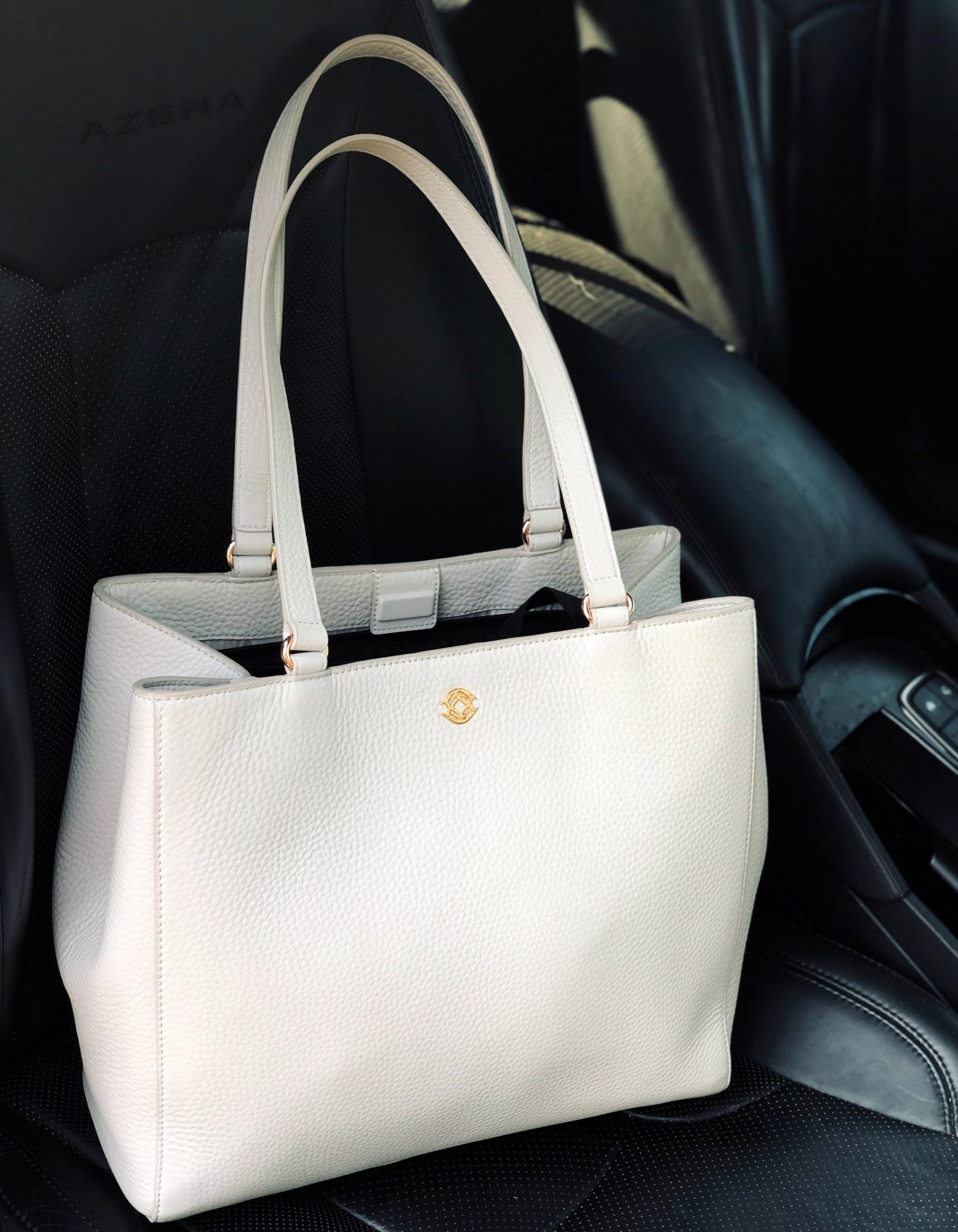 The Perfect Laptop Tote For Work Ft. Dagne Dover Medium Allyn Tote featured by US top Modest Blogger Dreaming Loud1