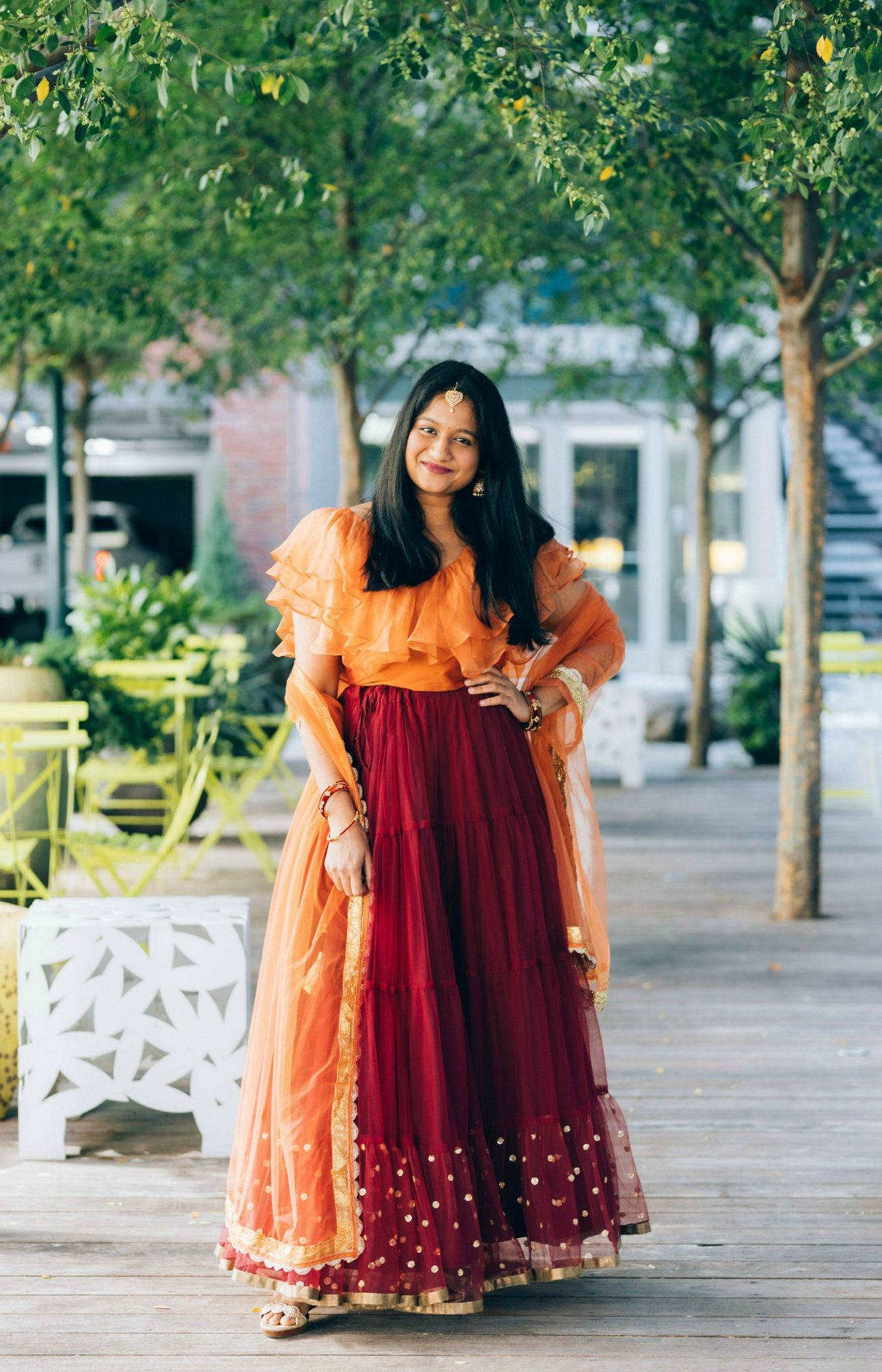 5 Cute Diwali Outfits to Wear for your Diwali Party, Diwali look book featured by top US modest fashion blog, Dreaming Loud.
