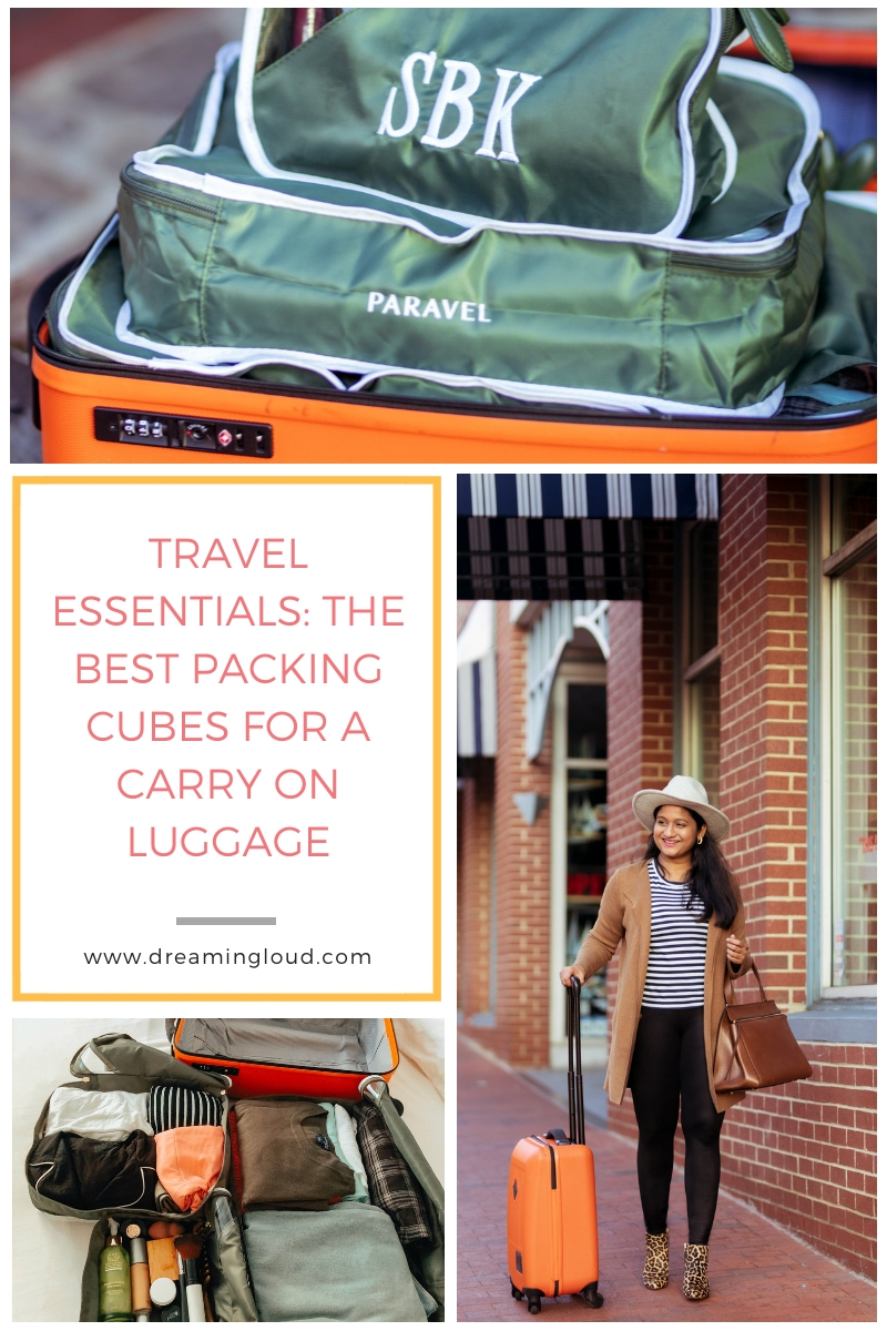 Paravel Packing Cubes: the Best Packing Cubes for a Carry On Luggage, a review featured by top US life and style blog, Dreaming Loud