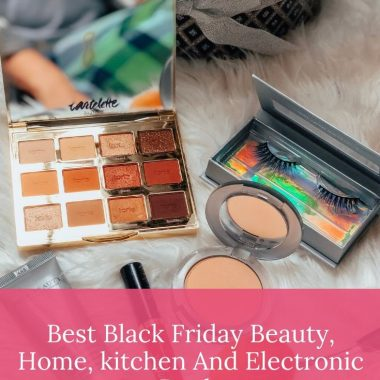 Shopping Guide: the Best Black Friday Deals and Sales for Beauty, Home, Kitchen & Electronics featured by top US life and style blog, Dreaming Loud