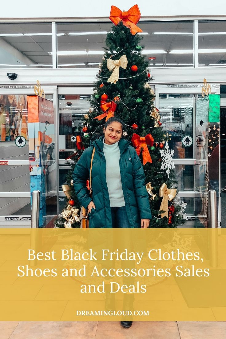 the Best Black Friday Sales and Deals for Clothes, Shoes and Accessories featured by top US modest fashion blog, Dreaming Loud