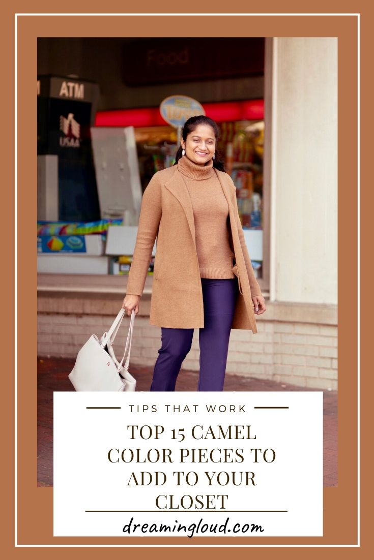 Camel Fashion favorites featured by top US fashion blog, Dreaming Loud