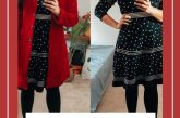 15 Cute Christmas Party Dresses Under $50 featured by top US modest fashion blog, Dreaming Loud