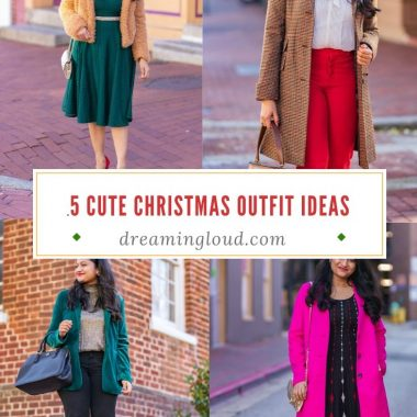 5 Cute holiday Christmas Outfit Ideas