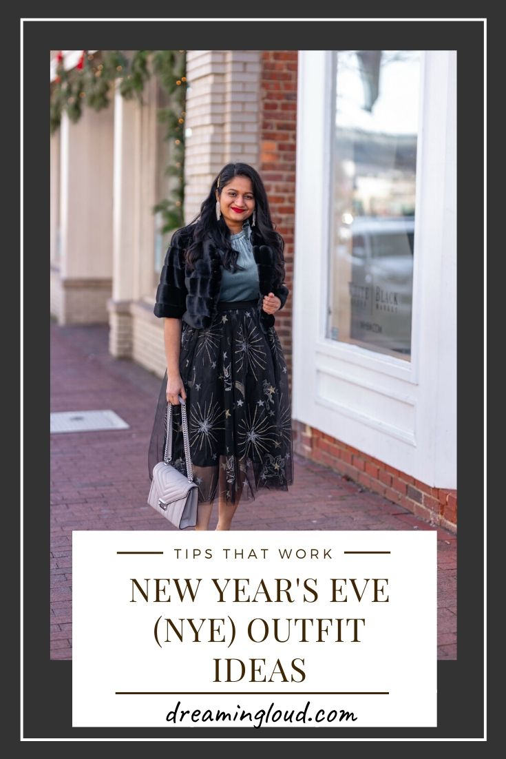 Affordable New Years Eve Outfits to Ring In the New Year featured by top US modest blog, Dreaming Loud