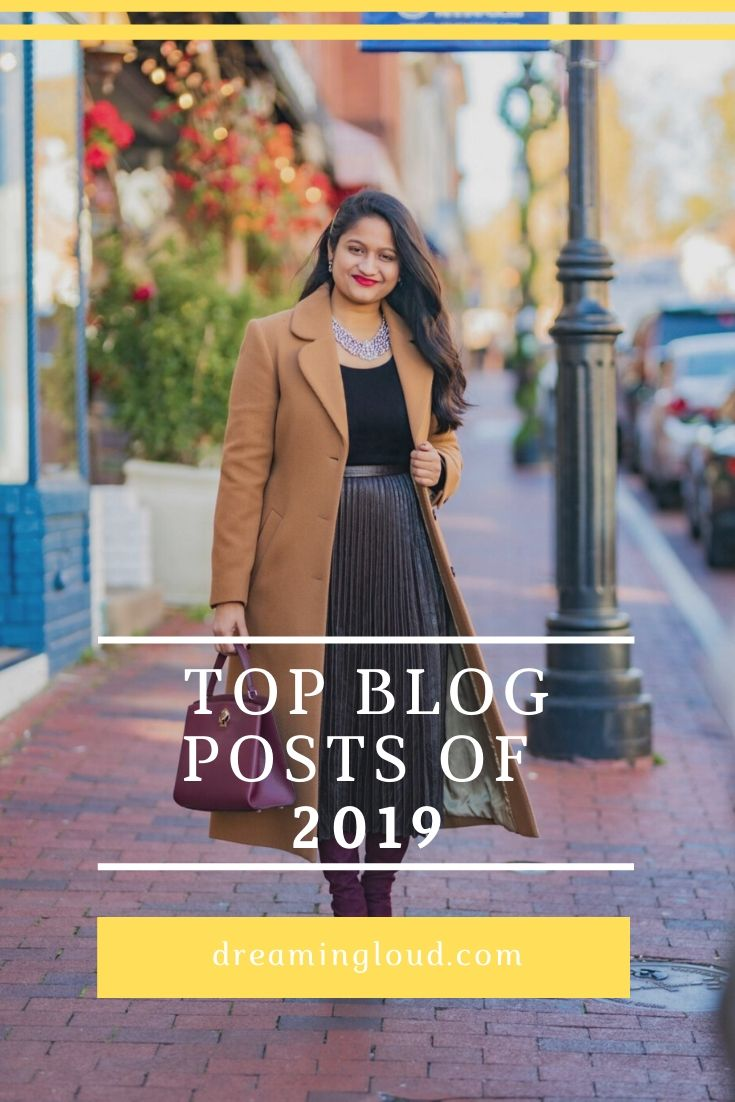 Most Popular Blog Posts of 2019 featured by top US life and style blog, Dreaming Loud