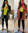 DL Workwear: Neon Yellow Green Camisole in 2 Ways