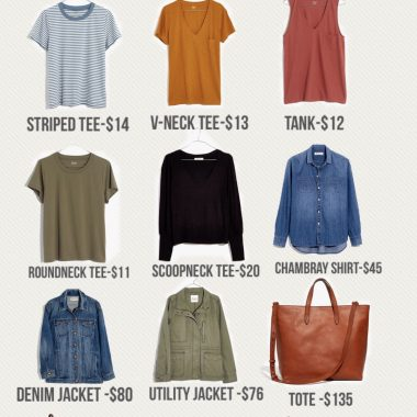 Madewell Spring Essentials on 30% off Sale by top us fashion blogger dreaming loud