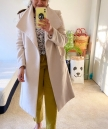 Yellow Pants Office Outfit
