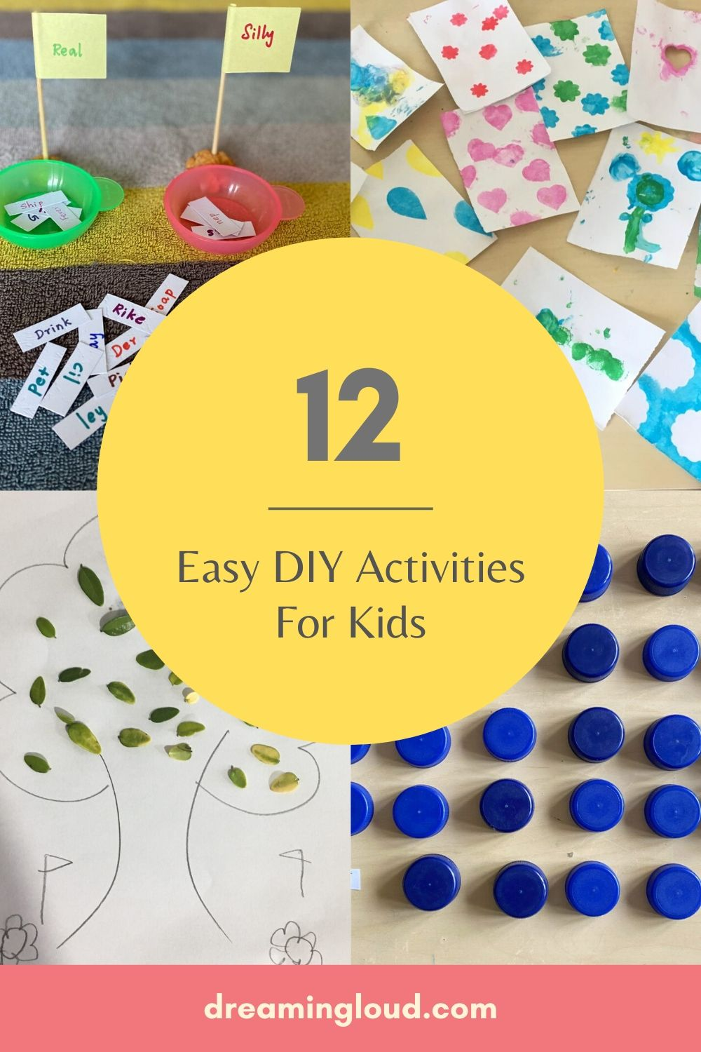 12 Easy DIY Activities for Kids to Keep Busy in Quarantine featured by top US lifestyle blog, Dreaming Loud
