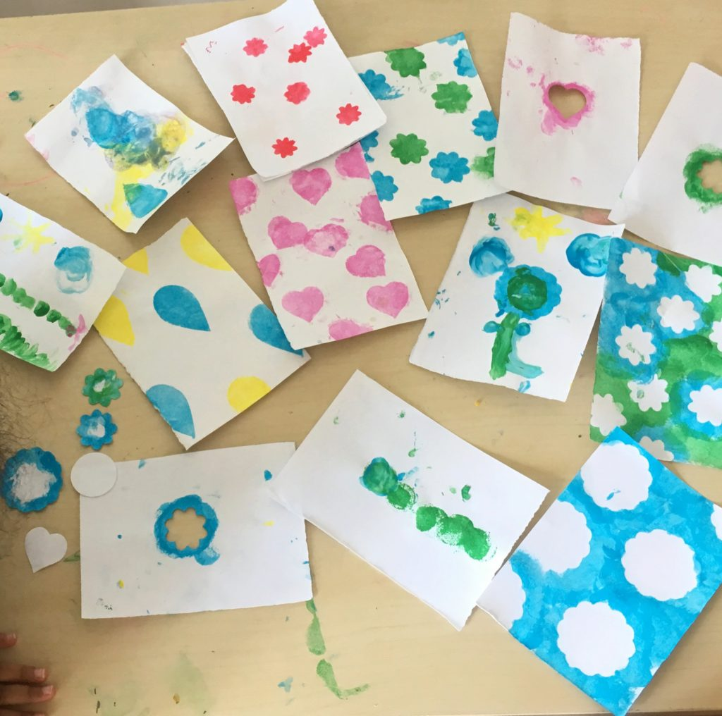 12 Easy DIY Activities for Kids to Keep Busy in Quarantine featured by top US lifestyle blog, Dreaming Loud: DIY Stencil
