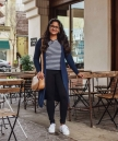 Casual Outfit with Lou and Grey Ponte Travel Legging