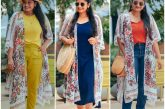 4 Colorful and Cute ways to style a Floral Kimono