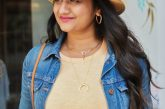 Favorite Summer Accessories- Gorjana Parker Necklace, Straw hat, Madewell Medium hoops
