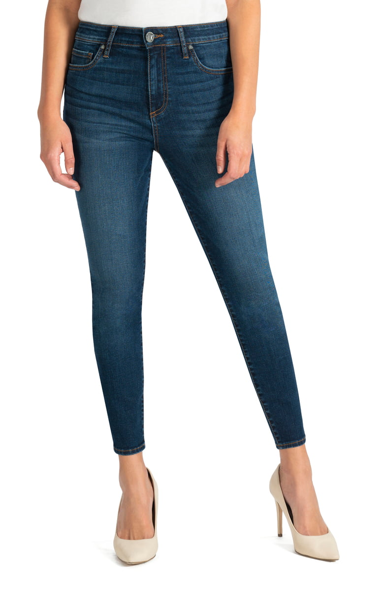 KUT Donna High Waist Ankle Skinny Jeans | Nordstrom Anniversary Sale by popular Maryland modest fashion blog, Dreaming Loud: image of a Nordstrom KUT from the cloth jeans.