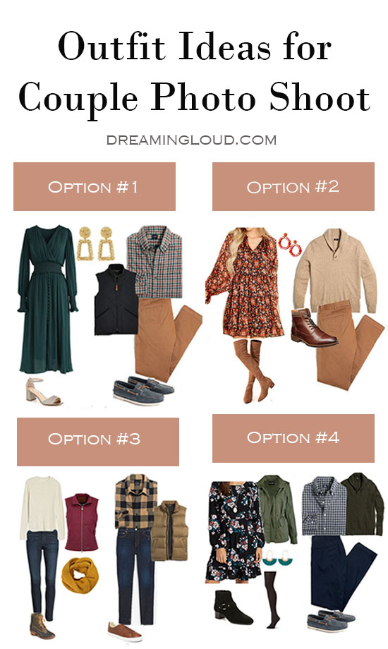 Affordable Fall Outfits for Couple Pictures featured by top MD fashion blogger, Dreaming Loud