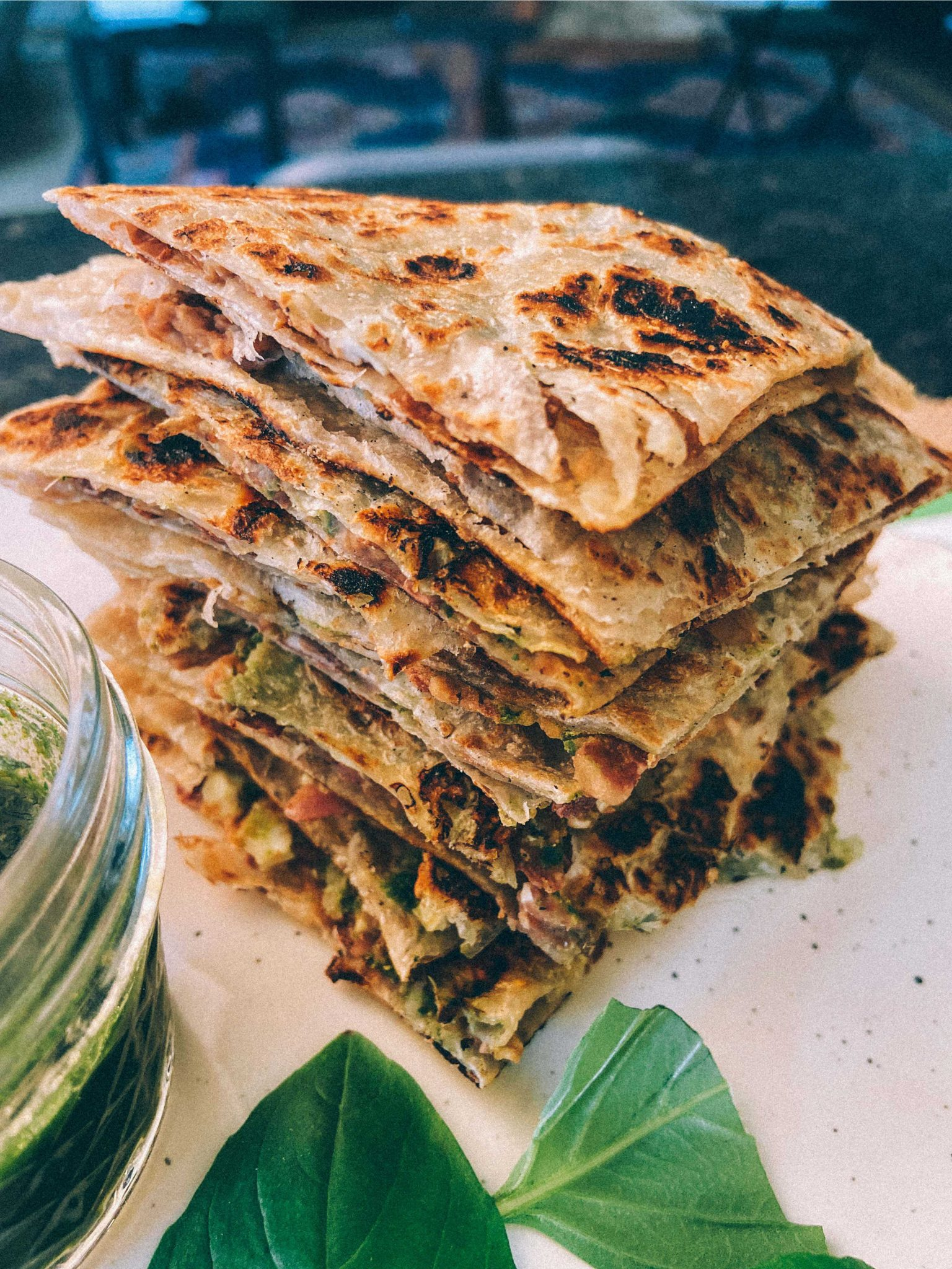 Vegan Paratha Quesadilla ft. Kawan Low GI Parathas