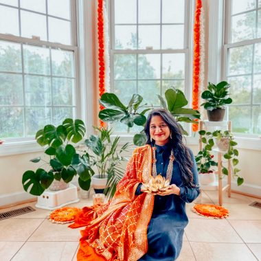 Simple Diwali Decoration ideas featured by top MD lifestyle blogger, Dreaming Loud